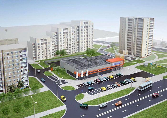 К Новому году в Гомеле откроется супермаркет «Соседи»