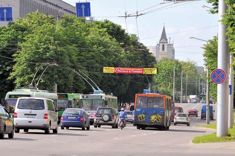 О расширении проезжей части улицы Советской...