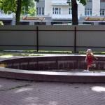 В Гомеле началась реконструкция фонтана в сквере имени Громыко