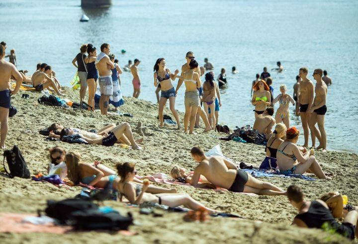 Центральный пляж признан лучшим в области