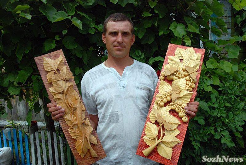 У Охотничьего домика появятся деревянные скульптуры от народного умельца