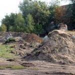 В Советском районе Гомеля снесли «дракона»