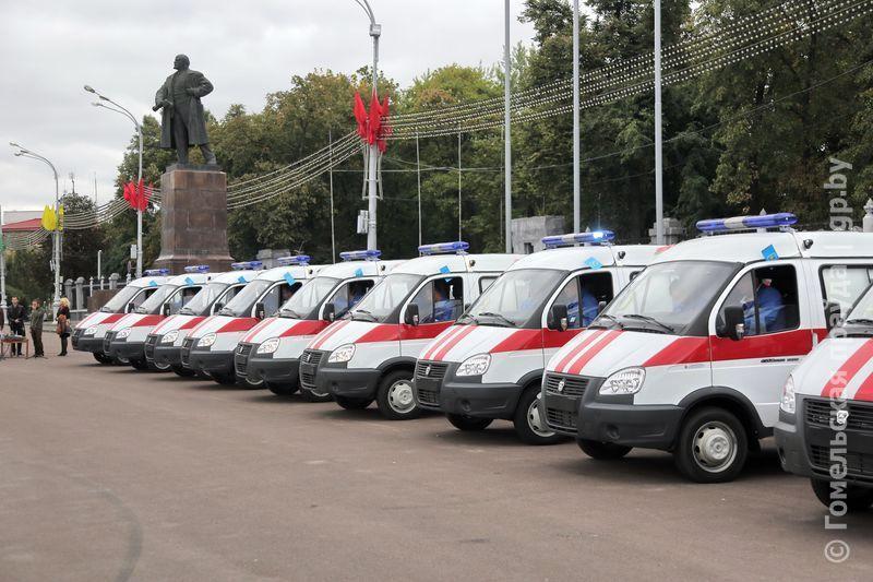 Автопарк Гомельской станции скорой помощи пополнил новенький спецтранспорт
