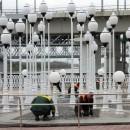 Большая уборка на набережной Сожа в Гомеле