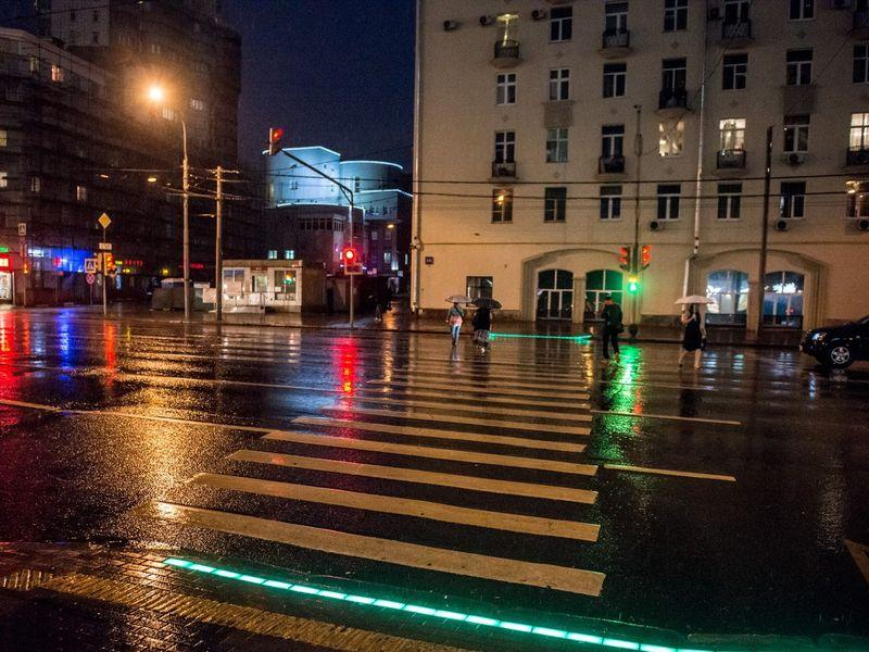 На перекрестках Гомеля появятся светодиодные ленты, дублирующие сигнал светофора