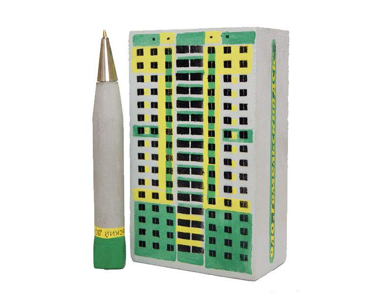 В Гомеле научились делать шариковые ручки из бетона