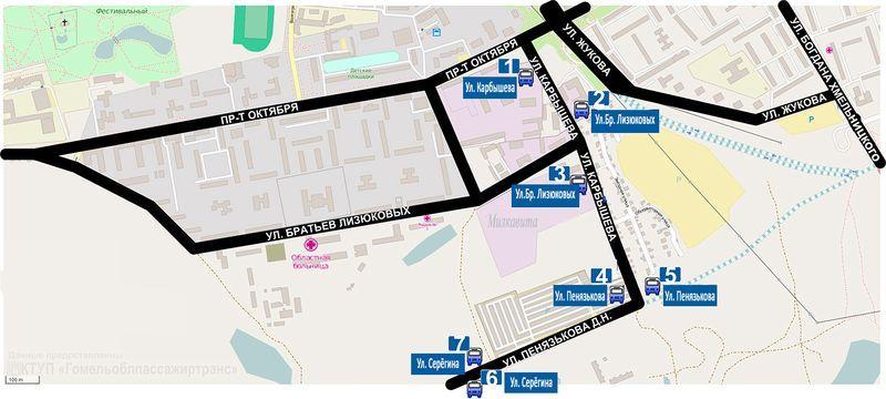 10 октября в микрорайон «Шведская горка» пойдут автобусы