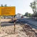 В Гомеле ведутся работы по строительству дороги от дома №96 по ул. Головацкого до ул. Юбилейной