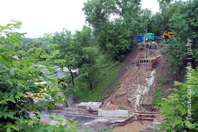 На сооружение нового Билецкого моста в Гомеле из областного бюджета выделили почти 9 млрд руб