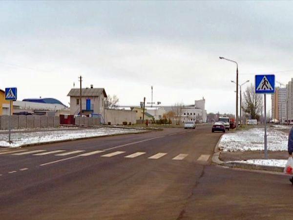 Строительство двух новых дорог завершено в Гомеле