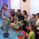 Больничные клоуны организовали очередной детский утренник