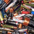 Минус старые батарейки