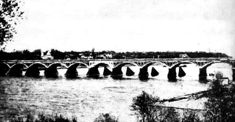 Страницы истории: мост через Сож