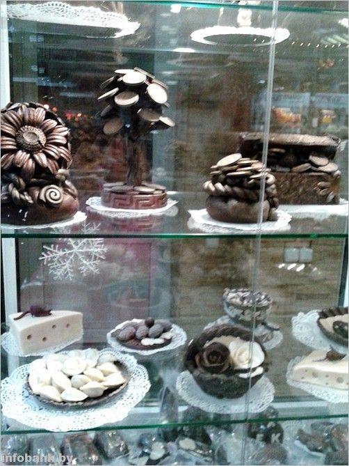 Вот такие шоколадные «сувениры» предлагает «Спартак»