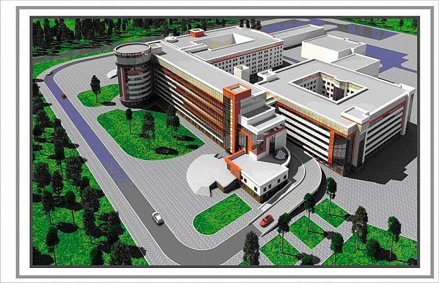 Работы по строительству нового комплекса областной детской клинической больницы начнутся в Гомеле уже в этом году