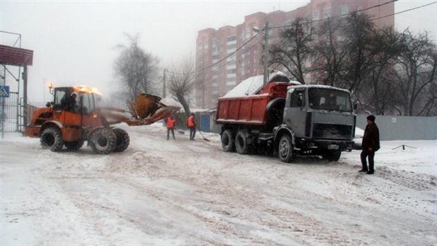 В Гомеле из-за снега отменили празднование... Дня снега