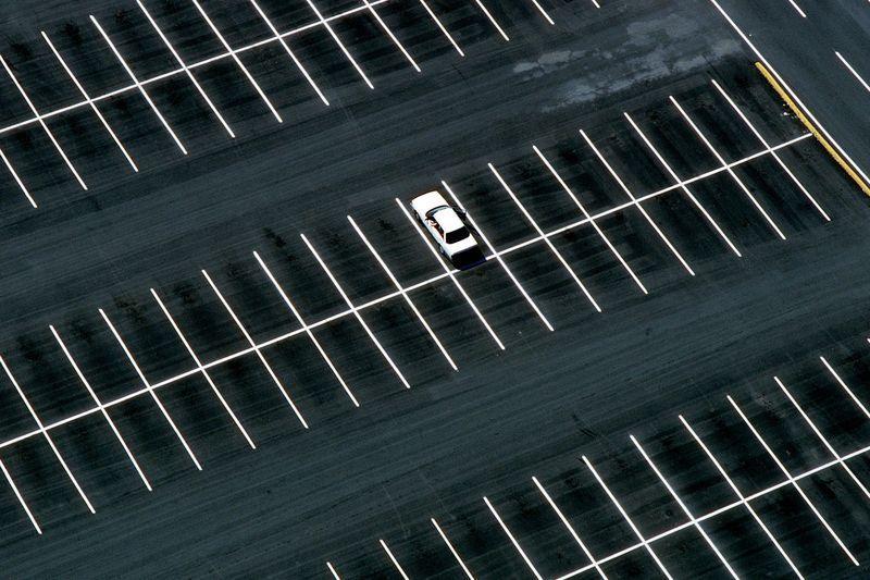 900 парковочных карманов было построено в прошлом году в центре Гомеля