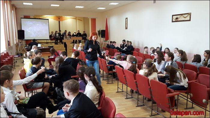 Гомельские школьники состязаются в знании белорусской истории и культуры