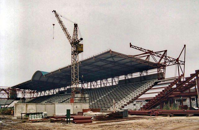 Как реконструировался гомельский стадион «Центральный»