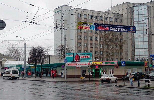 Проезжая часть улицы Интернациональной в Гомеле станет шестиполосной