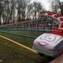 Уходит легенда: в парке демонтируют аттракцион «Весёлые горки»