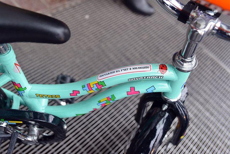 В Гомеле ставят на учёт даже велосипеды для малышей