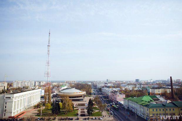 Город сверху: как выглядит центр Гомеля с самых высоких точек