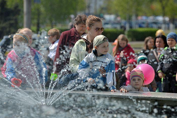 На этой неделе в Гомеле заработают фонтаны