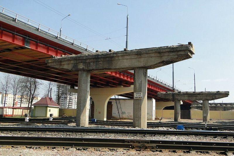 Полесский мост в Гомеле в этом году не достроят