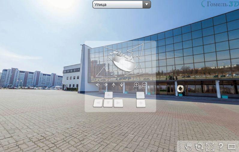 В интернете появился виртуальный тур по Ледовому дворцу