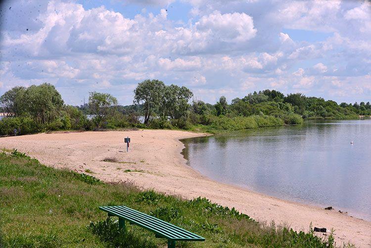 Пляжи Советского района готовят к купальному сезону