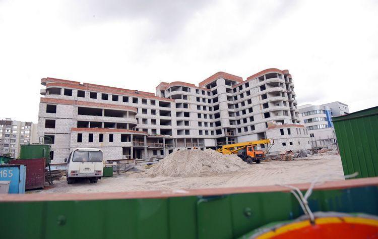 В этом году на строительство поликлиники в 17-м микрорайоне потратят 5 млрд рублей