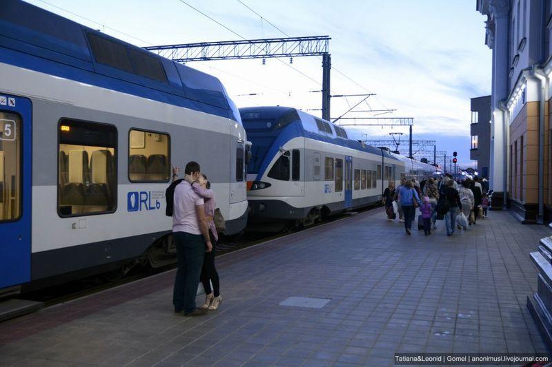 Минск и Гомель свяжет новый поезд бизнес-класса