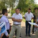 Сергей Шарейко (второй слева): «Несмотря на финансовые трудности, мы не оставляем идею построить «Алми» в Гомеле».