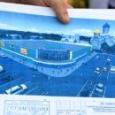 Срок строительства торгового центра согласно проекту - 9,6 месяца.