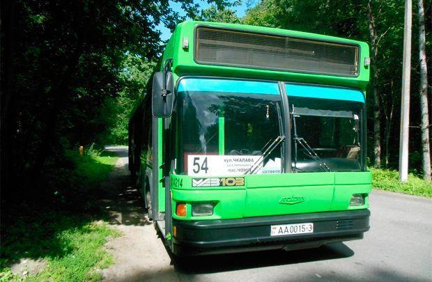 Автобусный парк №1 восстановил 54-ый маршрут «Улица Чкалова - Чёнки»