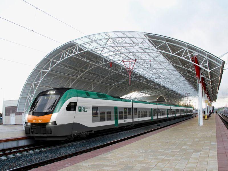 Электропоезд бизнес-класса InterCity начнет курсировать между Гомелем и Минском с 3 августа