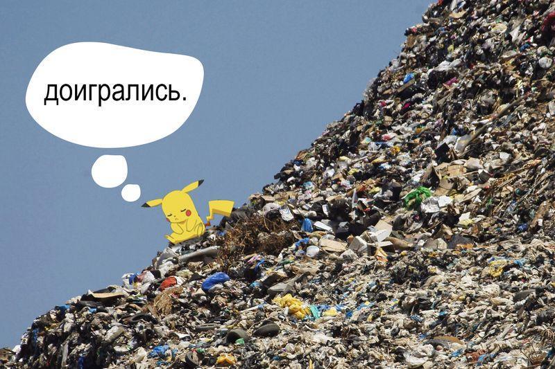 В Гомеле искали покемонов, а нашли мусор