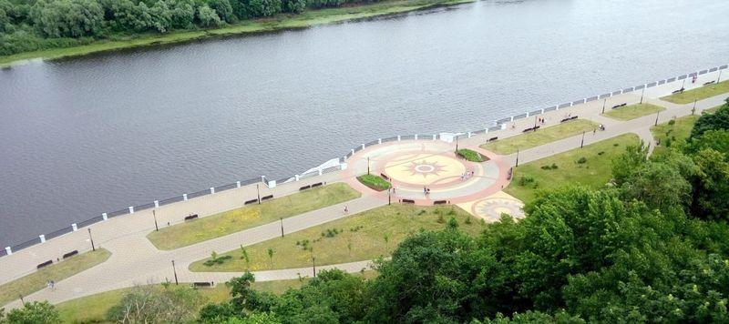 Стала известна сметная стоимость новой реконструкции набережной реки Сож