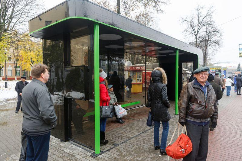 Интерактивная остановка в центре Гомеля в ближайшие дни снова заработает