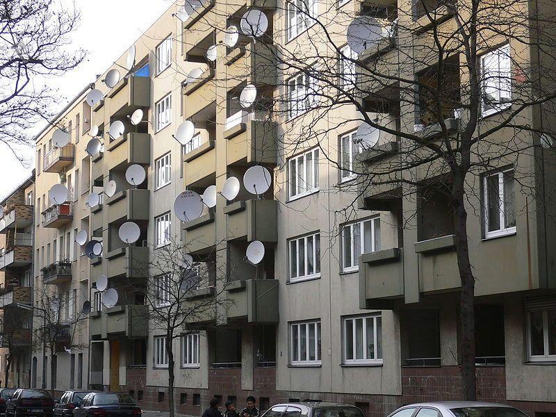 Гомельский горисполком запретил установку антенн на домах главных улиц города
