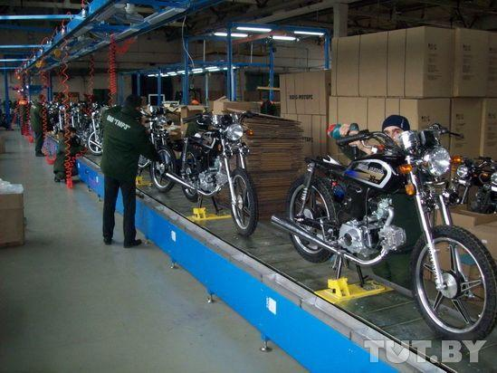 Как в Гомеле собирают скутеры - репортаж с заводского конвейера