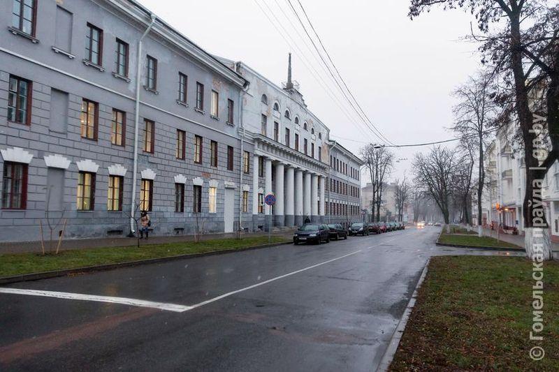 Слух о расширении улицы Пушкина в Гомеле оказался уткой