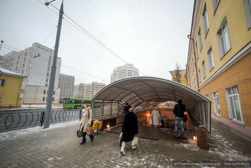 На улице Интернациональной открыли подземный переход