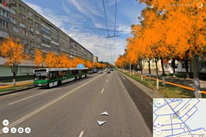 На участке от ул. Дворникова до ул. Богданова потребуется снос деревьев с двух сторон.