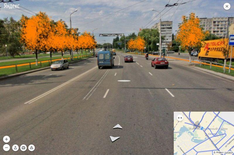 На участке от ул. Ефремова до ул. Осипова потребуется снос как минимум с одной стороны.