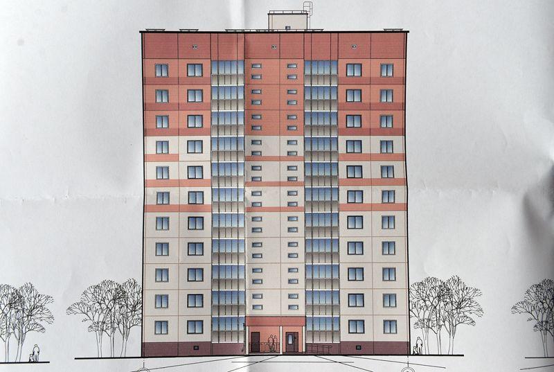 На обсуждение вынесен проект строительства дома в Любенском микрорайоне