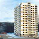 В районе ДК «Фестивальный» построят дома-близнецы