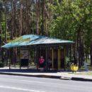 На Речицком проспекте появилась оригинальная остановка