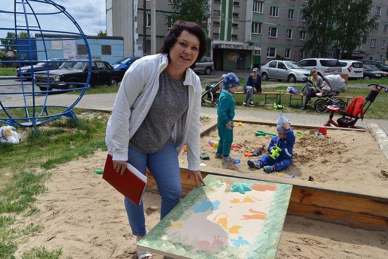 Жители Советского района благоустроят двор за собственные средства